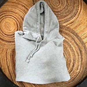 Old Navy gray hooded sweatshirt